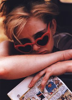 Girls who wear glasses: An outtake from Bert Stern's 1960 photoshoot of Sue Lyon for Stanley Kubrick's Lolita poster
