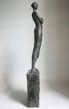 modern figurative bronze sculpture