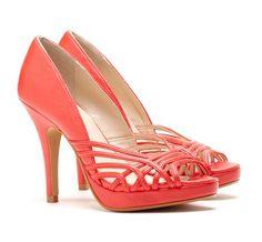 55 best Wedding Shoes images on Pinterest Coral shoes Bridal shoe