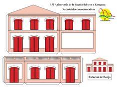 TODORECORTABLES SUEÑOS DE PAPEL: RECORTABLES DE TRENES