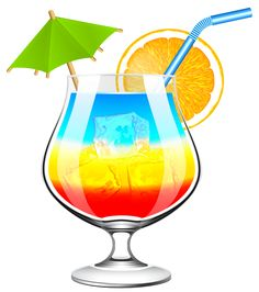exotic cocktail png clipart picture clip art drinks pinterest rh pinterest com drinks clip art free drinks clipart images