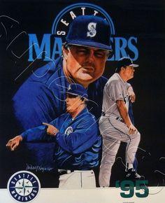 Lou Piniella Lou Piniella, Seattle Mariners, Mlb, Baseball Cards, Sports, Hs Sports, Sport