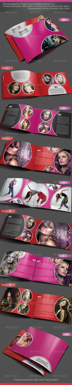 Photography Portfolio A4 Brochure -V2