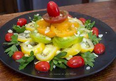 Pyramide de tomates de variétés anciennes