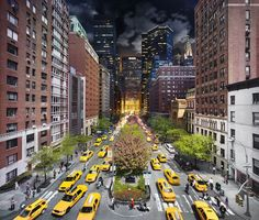 Day-to-night in the city: Stephen Wilkes documents a day in one photograph - Telegraph