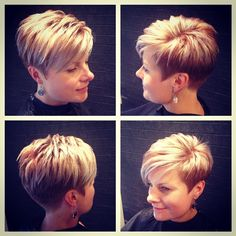 Are you looking for a way to re-style your thin hair? Or you have long and fine hair and would like to have a short haircut? No problem We have put together for you the prettiest short hairstyles for fine hair - Thin Hair Cuts Short Hair Cuts For Women, Short Hairstyles For Women, Short Hair Styles, Short Cuts, Short Wedge Hairstyles, Short Asymmetrical Hairstyles, Asymmetrical Pixie Cuts, Edgy Pixie, Pixie Bob