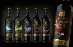 "Испанское вино ""Castilio de Cortes"" on Behance"