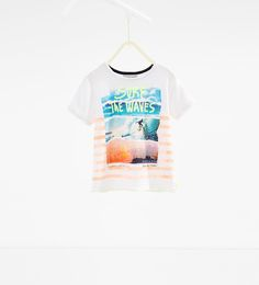 T-shirt surf fluo