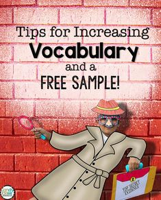 Great tips for increasing vocabulary
