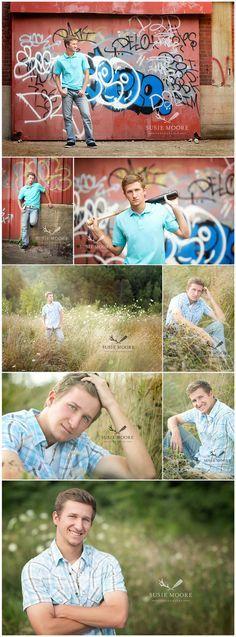 Senior Picture Ideas for Guys | Baseball | Graffiti