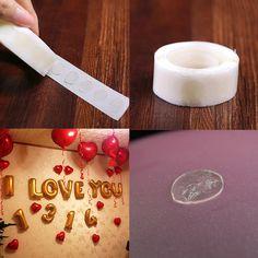 Trang Trí sinh nhật 100 cái/lốc New Removable Dán Bóng Bay Glue Wedding Nguồn Cung Cấp Bên Phụ Kiện