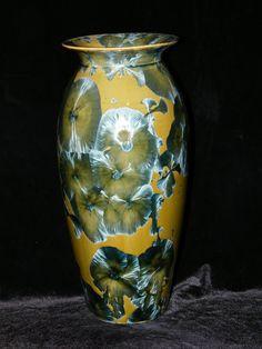 Nickel and Copper Vase - Paul Brown