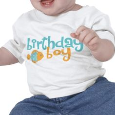 Under the Sea Birthday Party T-shirts