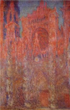 Rouen Cathedral - Claude Monet