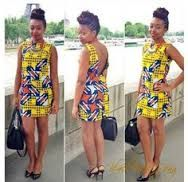 nice and beautiful african print dress African Inspired Fashion, African Print Fashion, Africa Fashion, Fashion Prints, Fashion Design, Women's Fashion, African Attire, African Wear, African Outfits