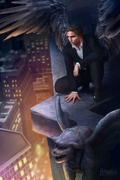 Person of Interest Fan Art: The City's Guardian by artmetica