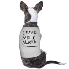 TvT Leave Me Alone Funny Dog Sweater *** For more information, visit now : Dog Cold Weather Coats