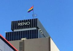 City Replaces American Flag With LGBT Rainbow Flag in Honor of Pride Celebration 7-27-15