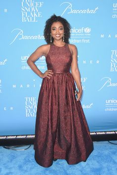 Patina Miller attends the 12th Annual UNICEF Snowflake Ball at Cipriani Wall Street on November 29, 2016 in New York City.