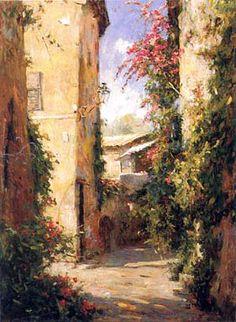 Rue De St Tropez by Leonard Wren