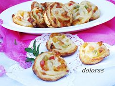 Blog de cuina de la dolorss: Espirales o caracolas de hojaldre con frutas confitadas