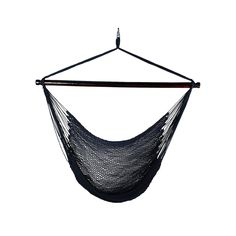 Lovely Outdoor Hanging Caribbean Rope Chair