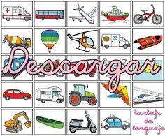 Burbuja de Lenguaje: Lotopuzle Transportes