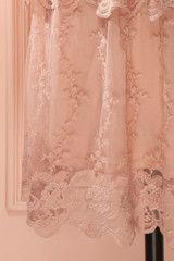 Bianelle Romance - Dusty pink lace ruffled dress