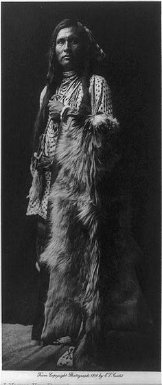 A young Nez Perce, 1910
