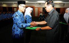 Harian Metropolitan – 126 CPNSD Kabupaten Bogor Terima SK