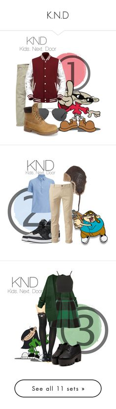 """""""K.N.D"""" by luiglesias ❤ liked on Polyvore featuring childhood, knd, Scotch & Soda, Michael Kors, Timberland, men's fashion, menswear, the wanted, max and max george"""