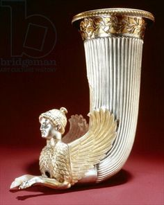 (Chapter 4): Rhyton (silver). A rhyton is a drinking vessel it was one thing that was produced by Minoan potters. Many rhytons were shaped like animals.