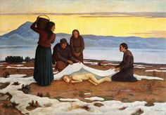 Awakening of Spring (Topielica demon) by Anna Berent, before 1929 (PD-art/70), Muzeum Narodowe w Warszawie (MNW)