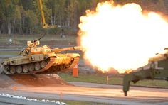 Russian-Made T-90 Tank Goes Through Baptism by Fire in Syria