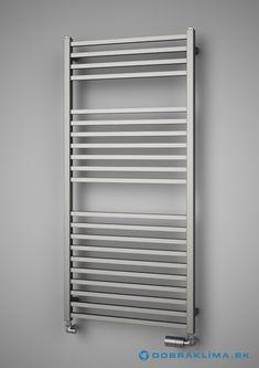 ISAN Quadrat Inox vodný nerezový radiátor   Dobrá Klíma