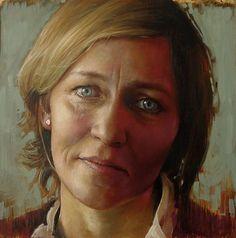 Anne-Christine Roda, huile sur toile, Mirella B
