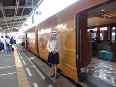 """Iyonada Monogatari"" sightseeing train."