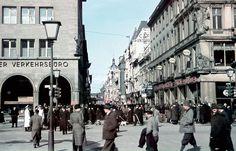 Seltene Farbfotos zeigen das Berlin der 30er- bis 60er-Jahre. Die Berliner Morgenpost hat dieselben Orte heute noch einmal fotografiert.