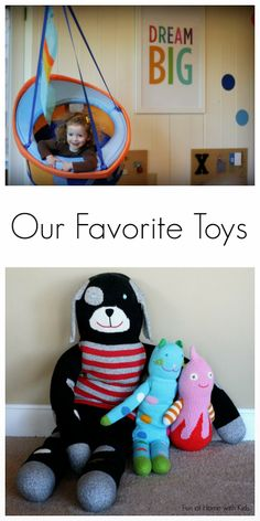 Our Favorite Toys from Fun at Home with Kids - Great ideas for Christmas gifts!