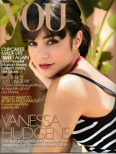 #VanessaHudgens - You - Feb 2012 **i like the simplicity of her look on this cover :)