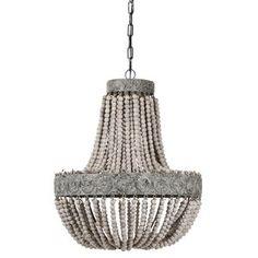 Takkrona Kullampa Signum - (ljusa träkulor) - Möbler online hos Möbelvaruhuset