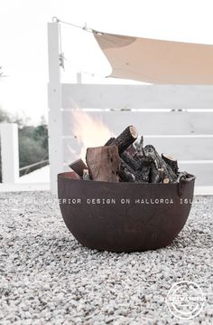 outdoor fire pinned by barefootblogin.com ...
