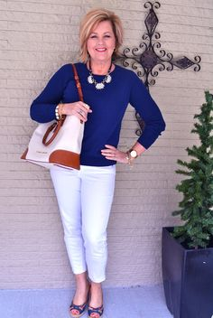 50 Is Not Old | Navy & White