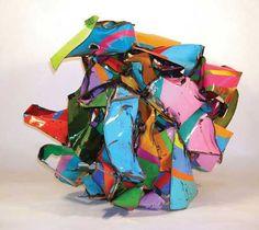 john chamberlain art   John Chamberlain, sculpture