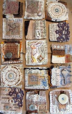ravenrocksstudio: The Geography of Loss: working with text and textiles to create an art quilt In this one day workshop, smart, witty, author, Patti Digh and Jane LafazioIwill Quilting squares - to me, they would make wonderful book pages. Can a quilt be a book, if it tells a story?