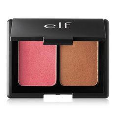 E.L.F. Cosmetics, Blush e Bronzeador a Base de Água, Bege Rosado Bronze, 0,29 oz (8,5 g)