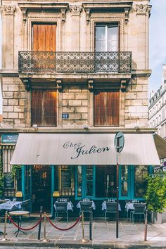 Chez Julien: classic French café    Quaint inside and out – Chez Julien in the Marais is your quintessential Paris café-restaurant. Get your shot then go in and eat.1 rue du Pont Louis-Philippe, 4th arrondissement