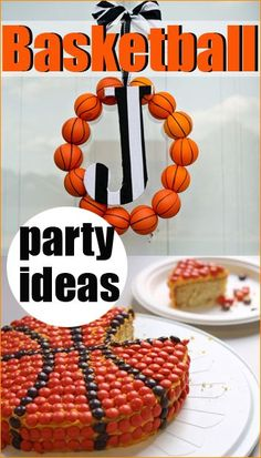 Basketball Party. These party ideas won't disappoint. Celebrate with cute cakes and party decor.
