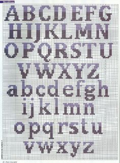 Thrilling Designing Your Own Cross Stitch Embroidery Patterns Ideas. Exhilarating Designing Your Own Cross Stitch Embroidery Patterns Ideas. Cross Stitch Letter Patterns, Cross Stitch Numbers, Cross Stitch Letters, Cross Stitch Borders, Cross Stitch Charts, Cross Stitching, Stitch Patterns, Crochet Alphabet, Crochet Letters