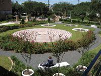 labyrinth at Univ of St Thomas in Houston